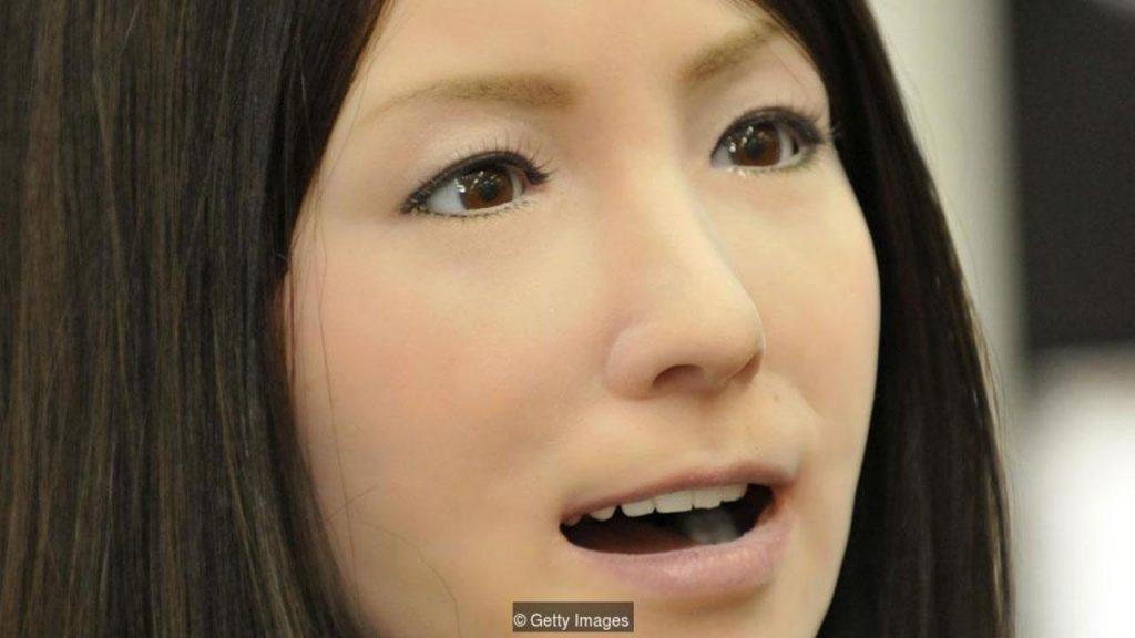 creepy uncanny valley robot woman
