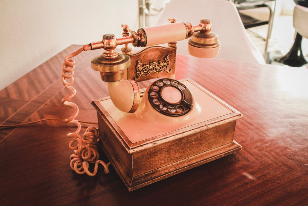 the rotary telephone - primitive VR